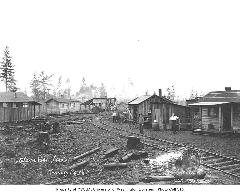 111 mv stetson & post logging camp 1924
