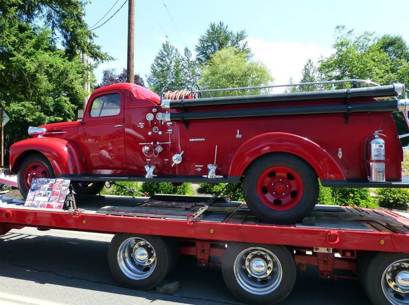 1947 Ford Fire Truck
