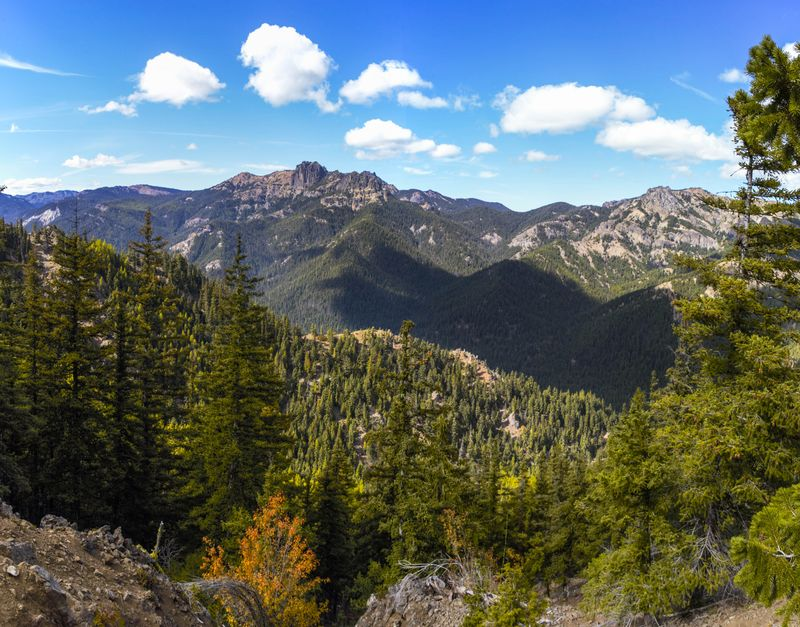 North Cascades View from Trail-