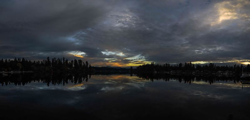 Sunset Panorama 25-