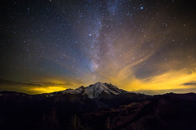 Milky Way from Dege Peak