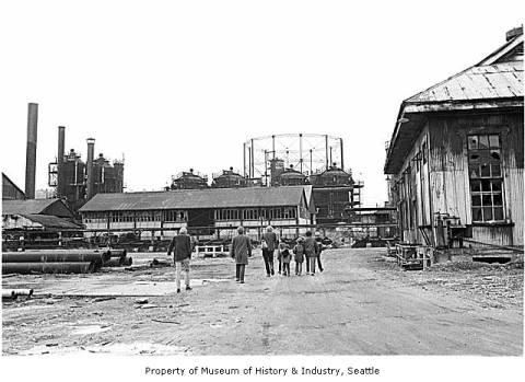 Gas works 1971