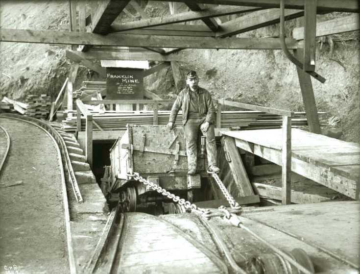Franklin mine shaft