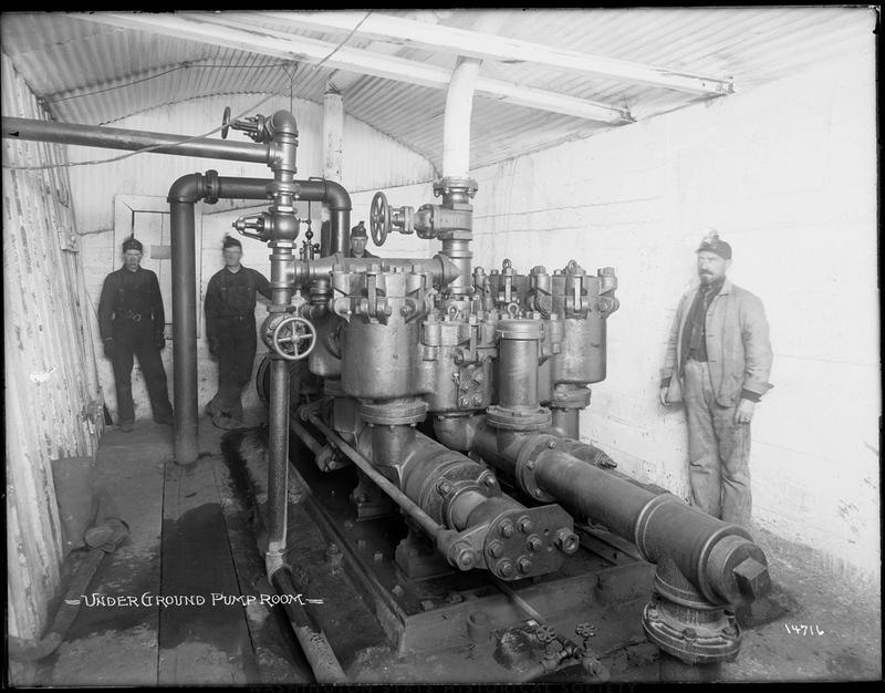 Underground pump room
