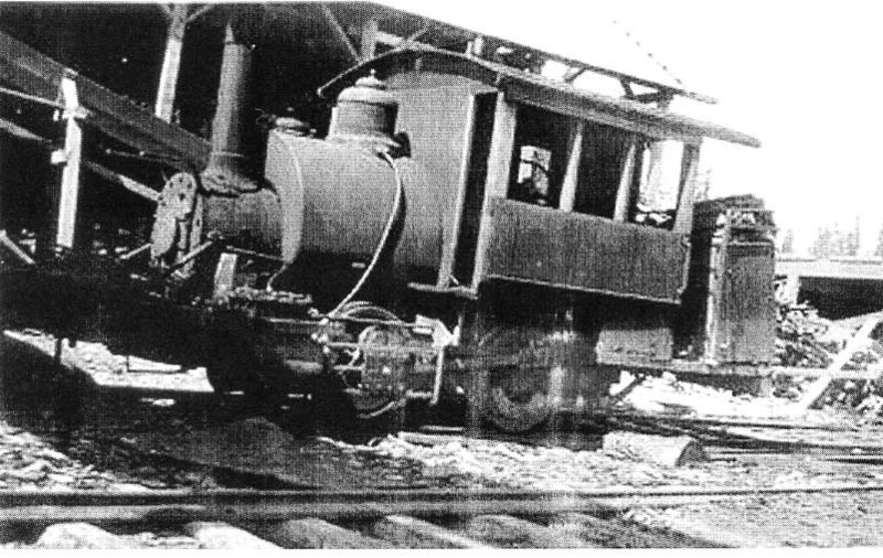 LS lumber co Locomotive # 2  0-4-0 tank (2)