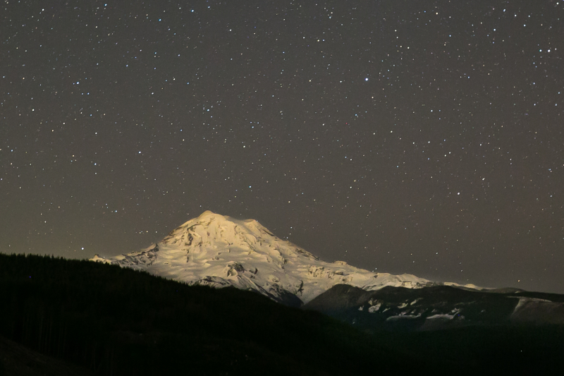 Mountain Stars Wide Angle Cropped #2