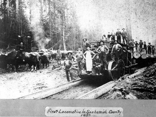 Logging railroad 2