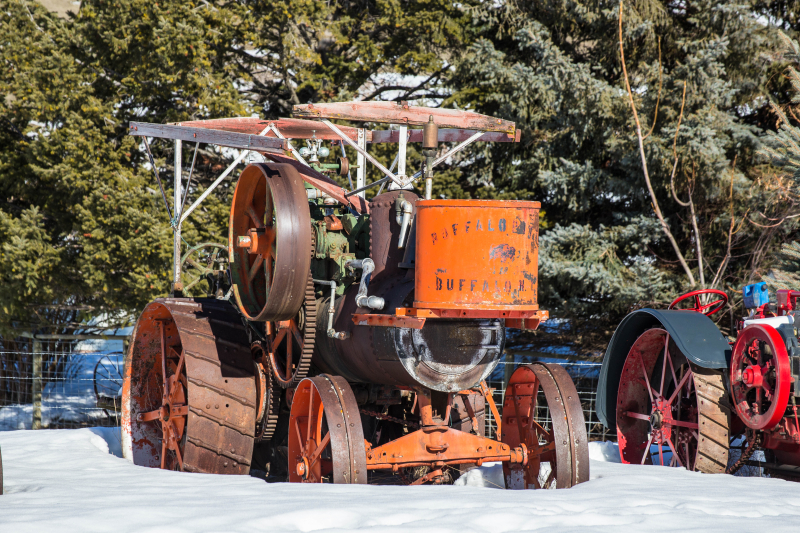 Steam Tractor 11