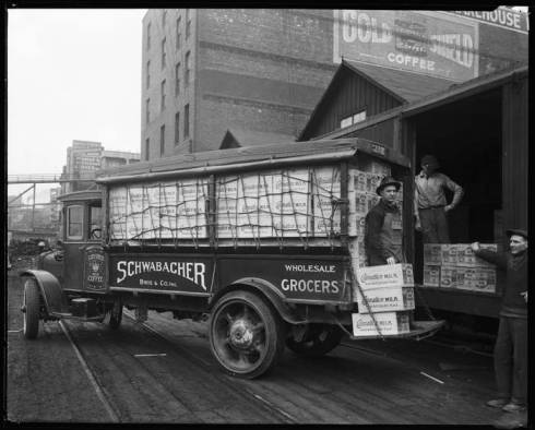11 carnation milk delivery truck