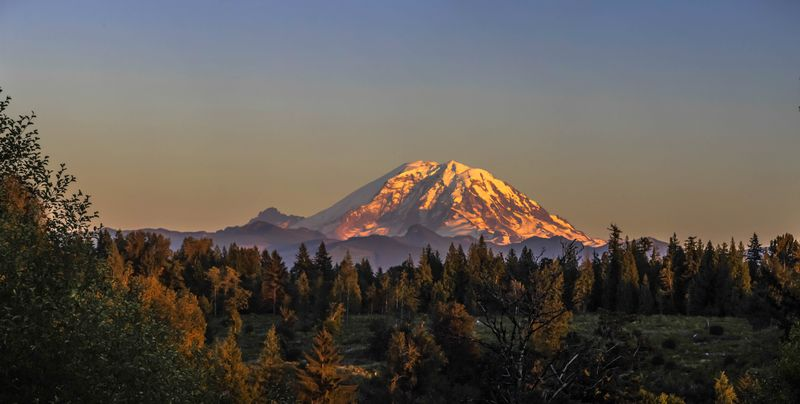 Mount rainier sunset 26-