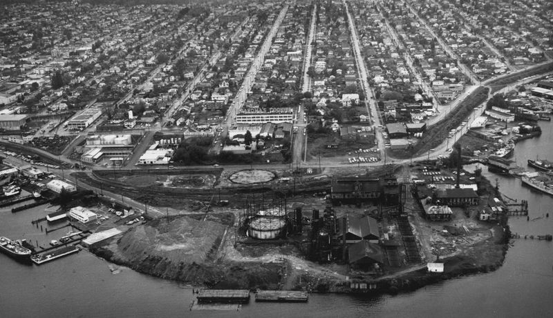 Gasworks 1938 Seattle Archives