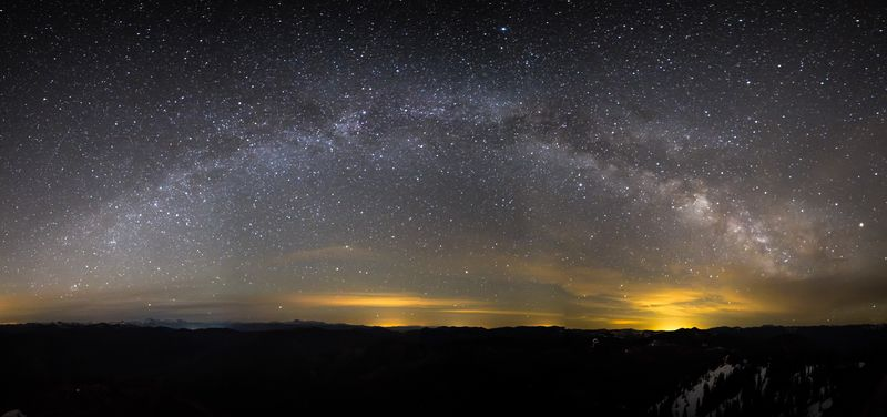 Milky Way Arch 2