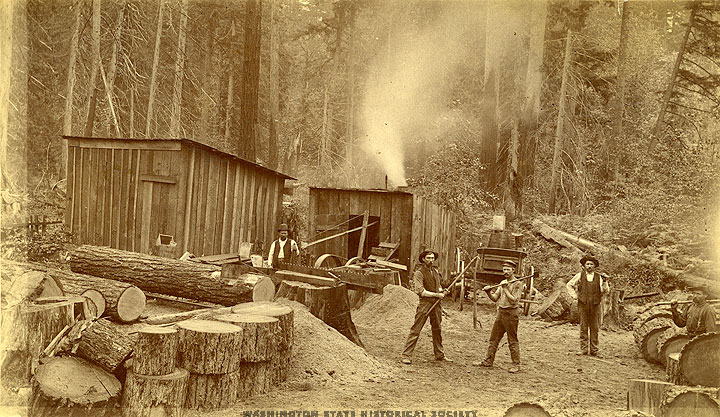 Auburn shingle mill 1890