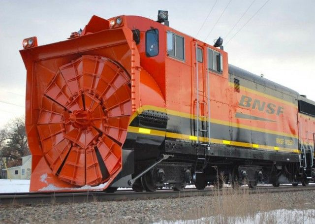 Bnsf snow blowers