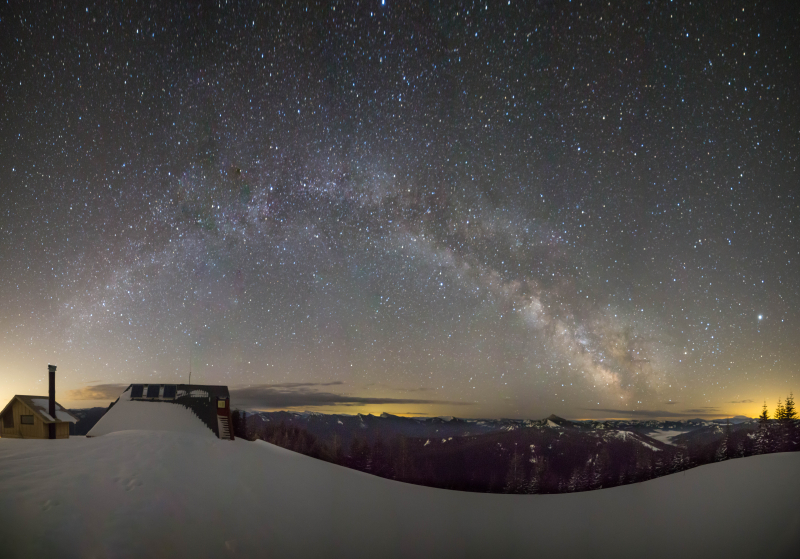 Milky Way from St Helens to High Hut 10a
