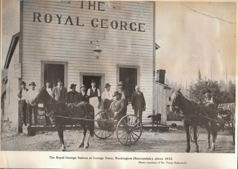 Royal George Saloon Ravensdale 1912 (2) - Copy