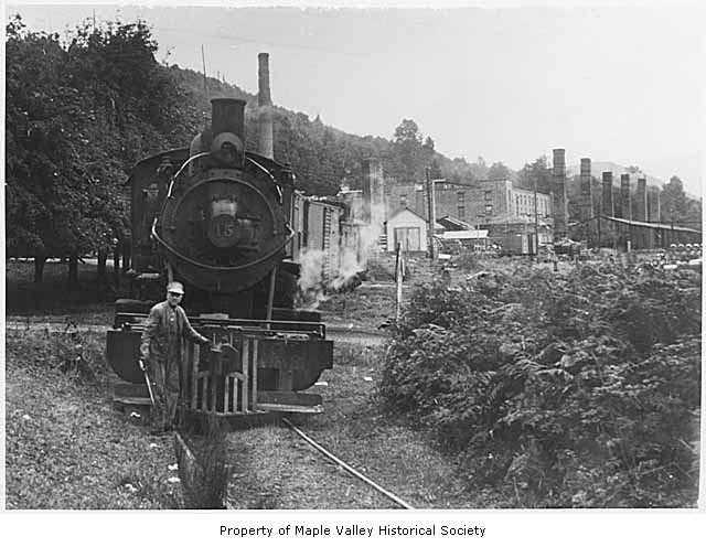 Railroad at taylor 1944