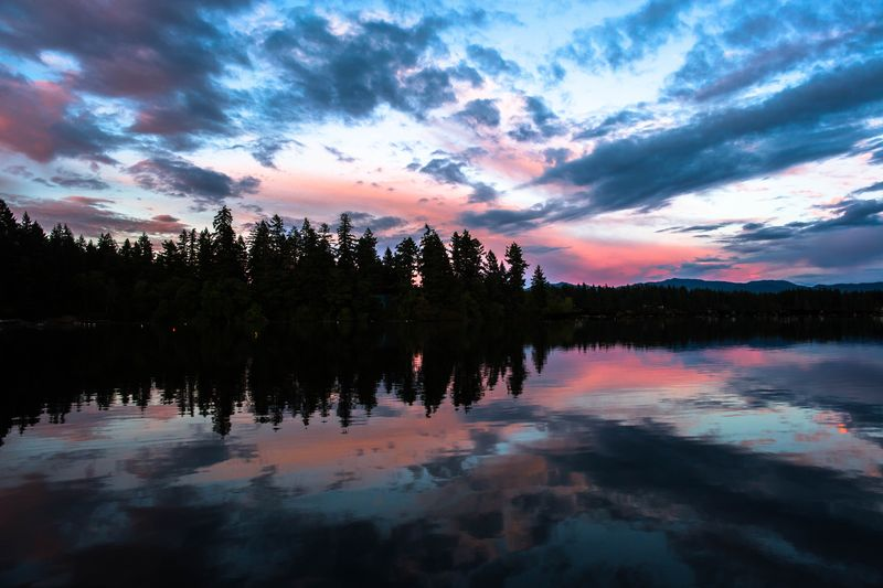 Sunset reflections-7114