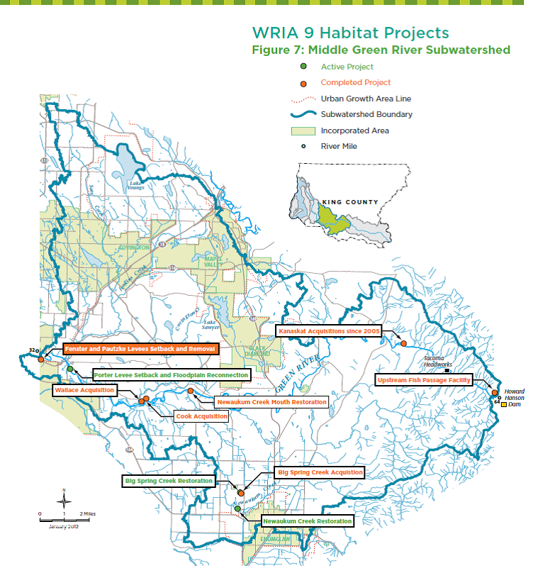 WRIA 9 Habitat Projects