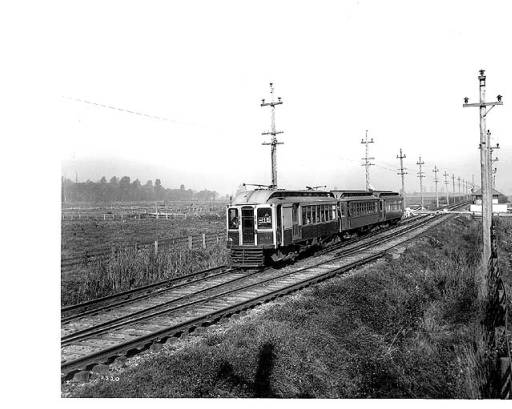 Puget Sound Electric Railroad on tracks