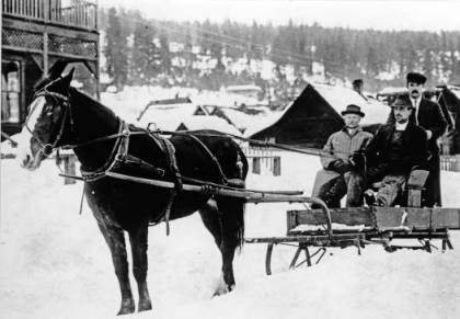 Cle elum in the snow 1900 - 1909