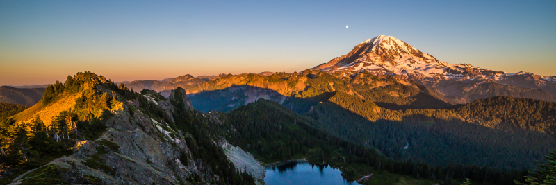 Tolmie Peak Sunset 48 x 16