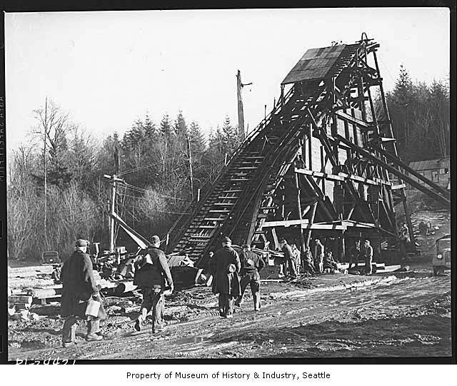 Ginder Lake coal mine  1941