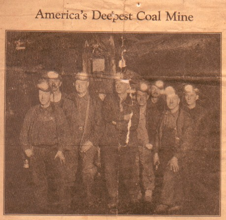 Americas Deepest Coal Mine-#11-Bulletin 01-21-1927