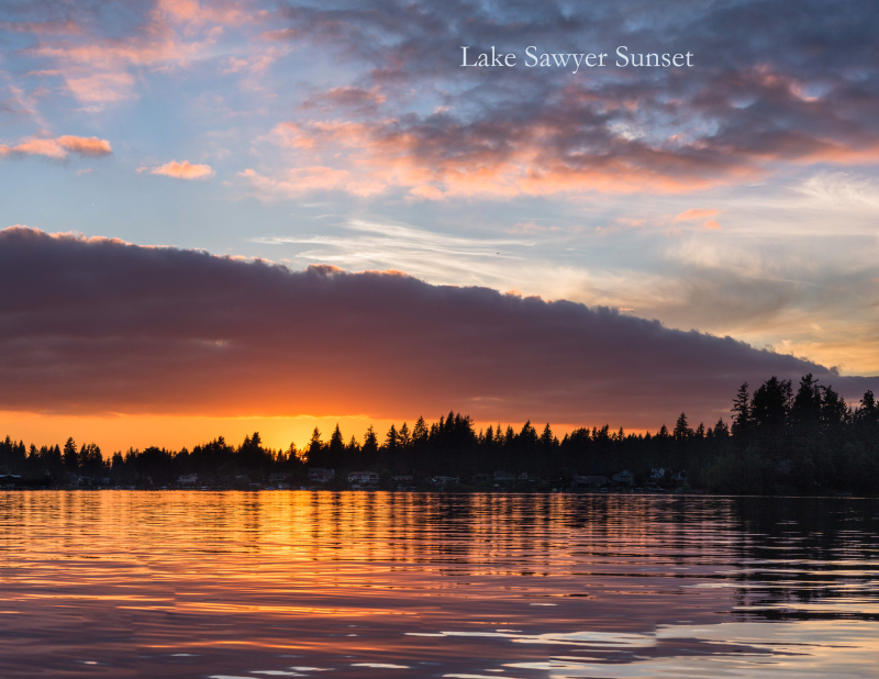 8 Lake Sawyer Sunset 2