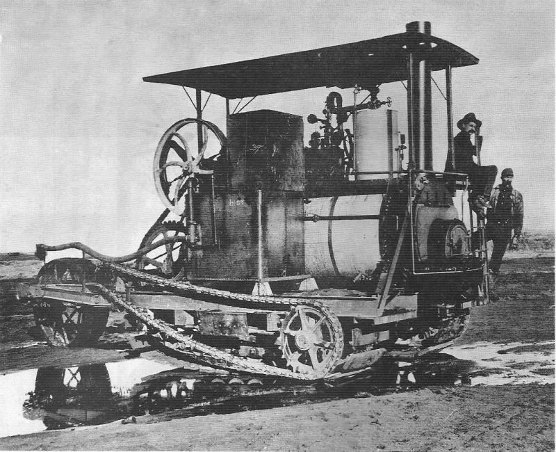 Holt_prototype_track-type_tractor_1905