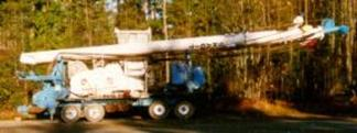 Self propelled 90' cable yarder