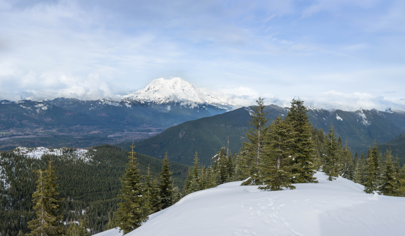 Afternoon Mountain Pano 1b