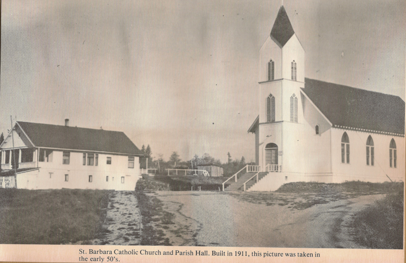 St Barbara's Catholic church 1950's (2)