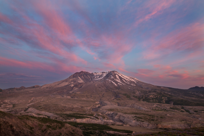 Sunset Mountain Colors 1-7758