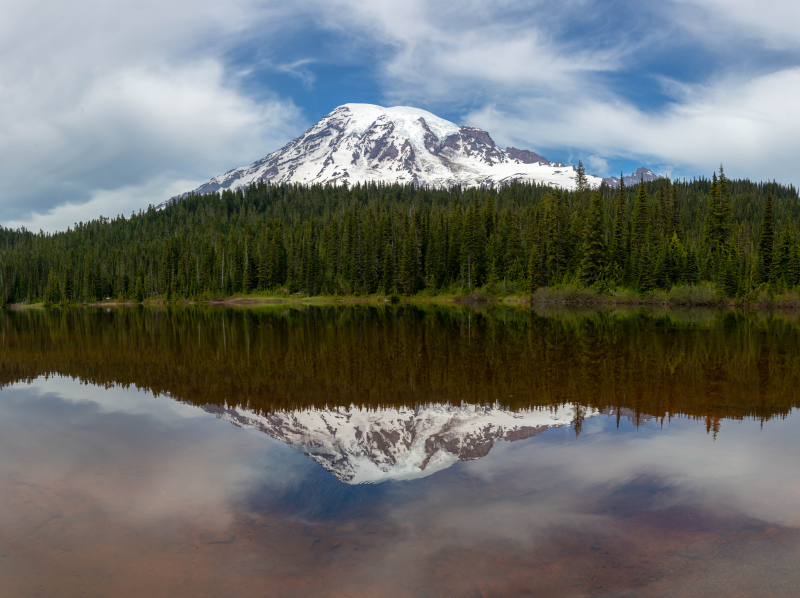 Reflection Lake Pano 1-1