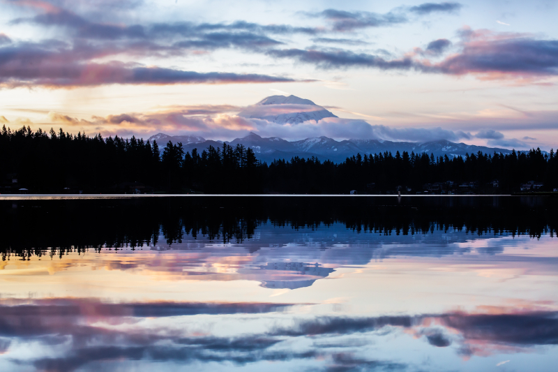 Mt Rainier Refletions 4-1