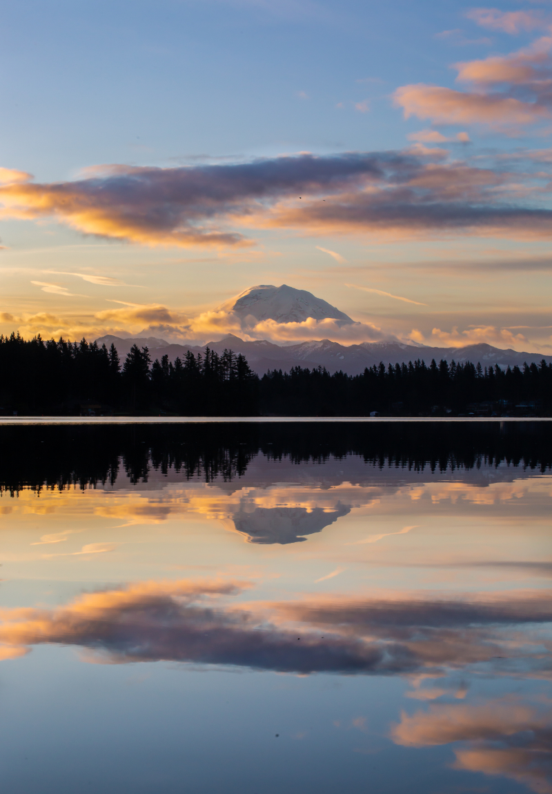 Mt Rainier Refletions 1-1