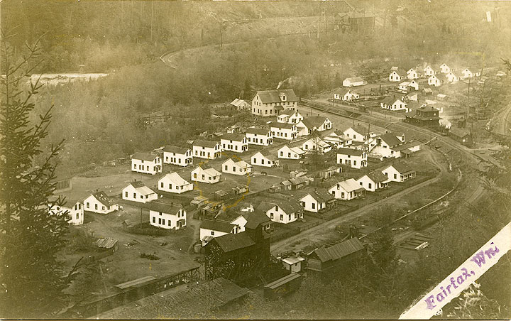 Fairfax view of houses