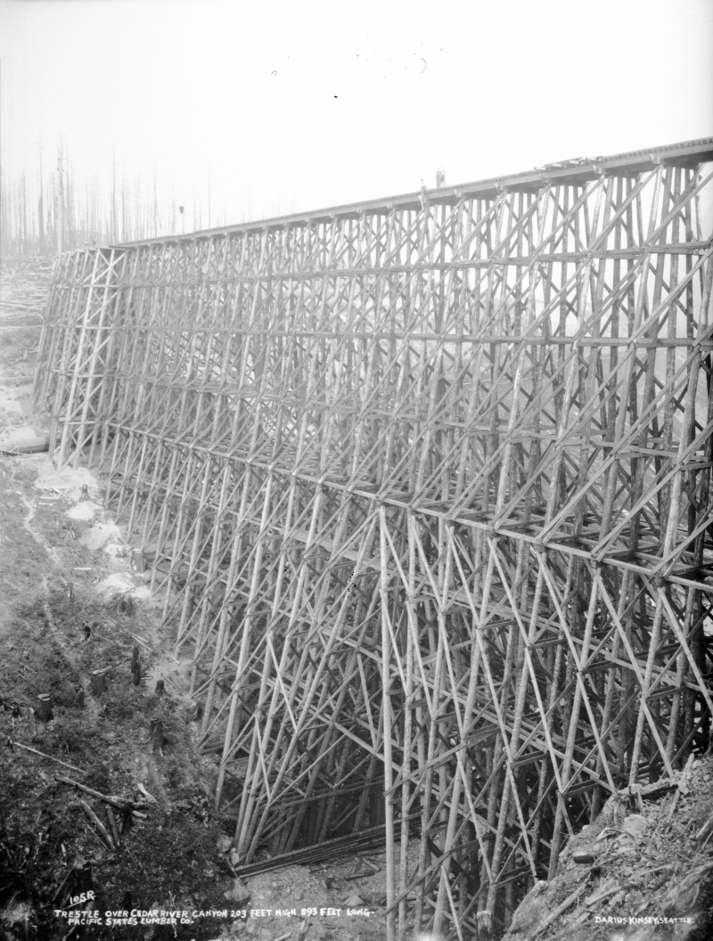 Pacific states lumber trestle